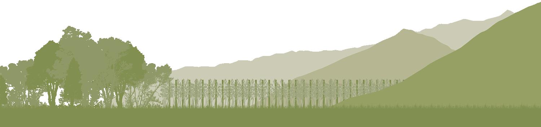 Landschaft Grafik Schlanders